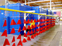 Valencia CA Commercial Powder Coating Facility
